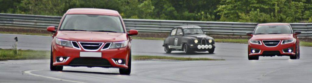 SSK och CSS samt Saab Bilmuseum är inbjudna till banträffen på Kinnekulle Ring
